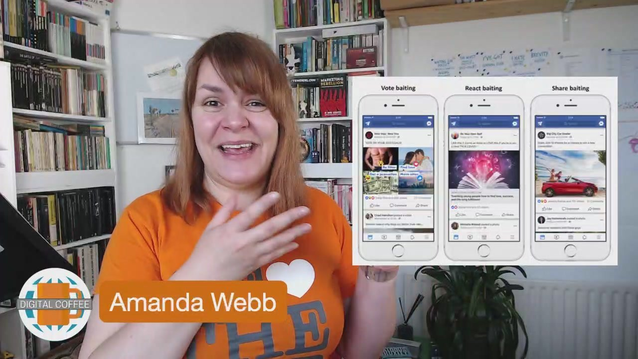 Facebook Says No To Engagement Baiting In Video – Digital Coffee 19th April 2019