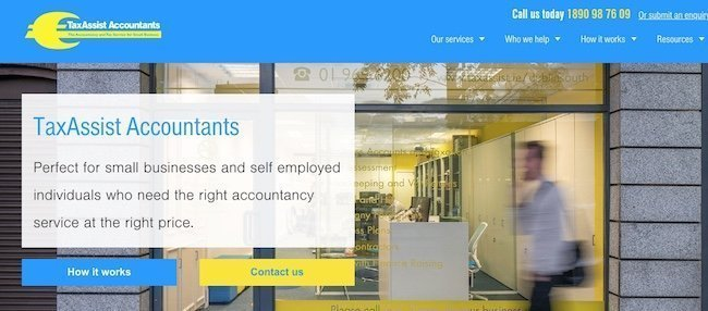 tax assist accountants shows it's different in it's Hello Hook