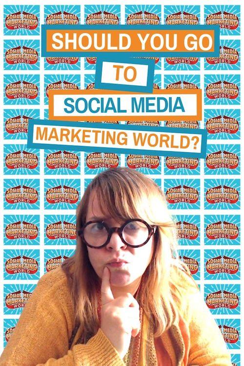 Should You Go To Social Media Marketing World?