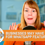 You May Have To Pay For WhatsApp eCommerce Features - Digital Coffee 30th October 2020