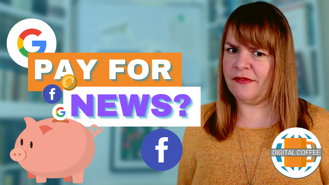 Should You Pay For Online. News? – Digital Coffee Digital Marketing News 29th January 2021