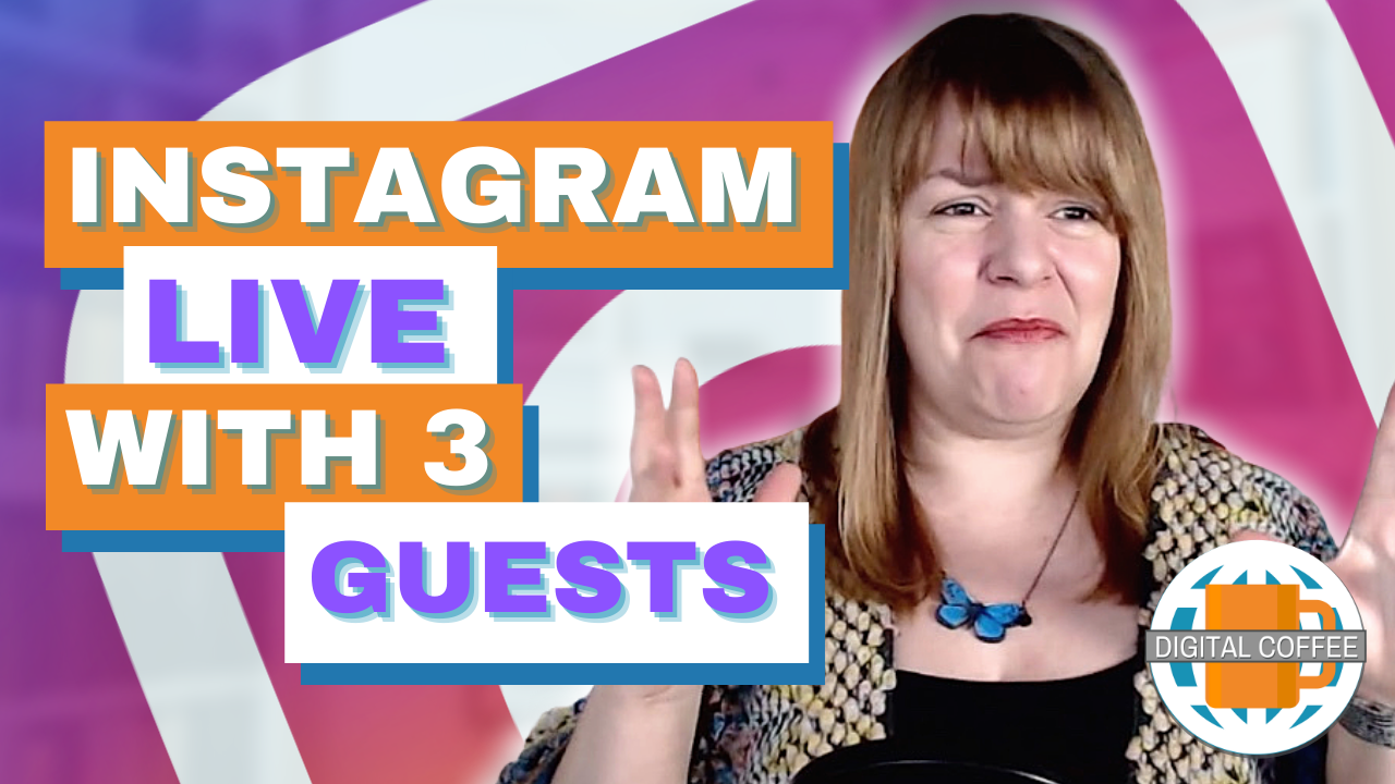 Instagram Live With 3 Guests – Digital Marketing News 19th February 2021